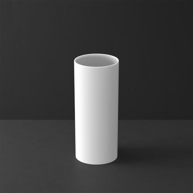 MetroChic blanc Gifts Vase haut 13x13x30,5cm, , large