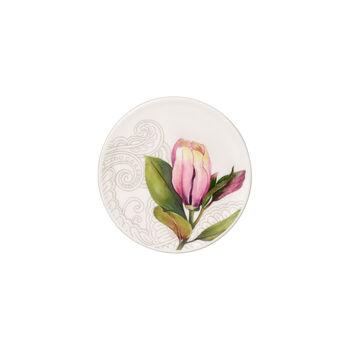 Quinsai Garden onderzetter, diameter 11 cm, wit/gekleurd