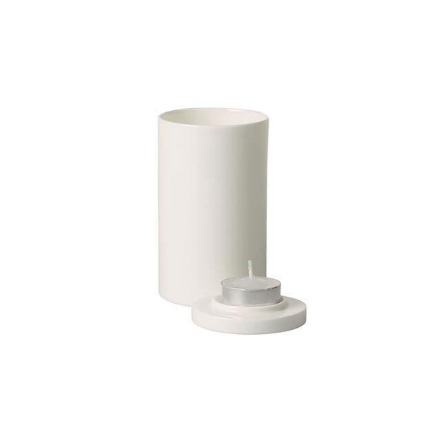 MetroChic blanc Gifts Theelichthouder 7,5x7,5x13cm, , large