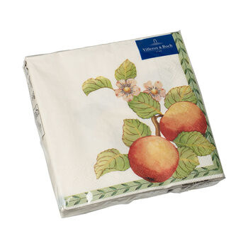 Papieren servetten French Garden Modern Fruits, 20 stuks, 33x33cm