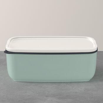 ToGo&ToStay lunchbox, 20x13x7,5 cm, hoekig, mintgroen