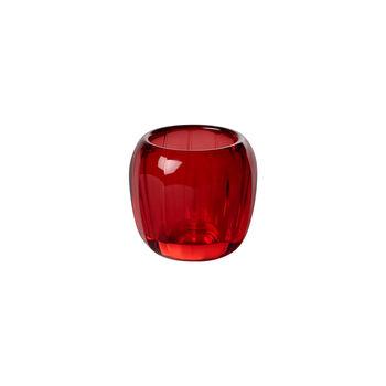Coloured DeLight Theelichthouder klein Deep Red 70mm