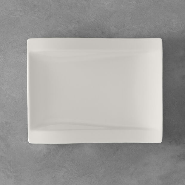 NewWave rechthoekig ontbijtbord 26 x 20 cm, , large