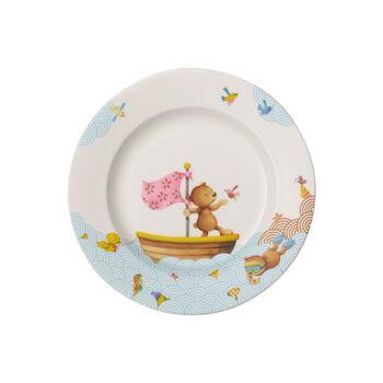 Happy as a Bear Assiette plate pour enfants 220x220x26mm