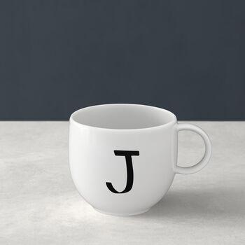Mug Letters J 13x10x8cm