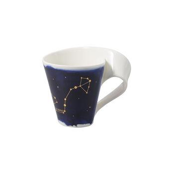 NewWave Stars beker Schorpioen, 300 ml, blauw/wit