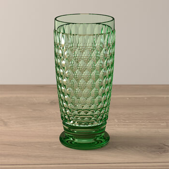 Boston Coloured longdrinkglas green