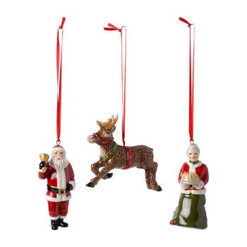 Nostalgic Ornaments Ornamenten North Pole Express Set 3-dlg. 9,5cm