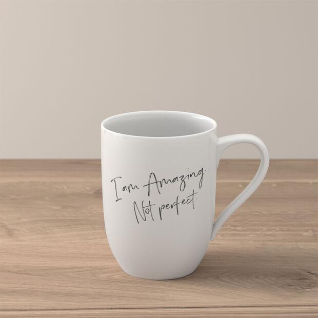Statement mug «I'm amazing. Not perfect», , large