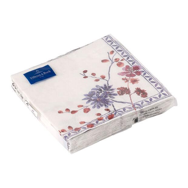 Papieren servetten Artesano Provencal Lavendel, 20 stuks, 33x33cm, , large