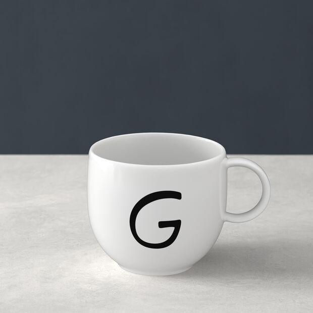 Mug Letters G 13x10x8cm, , large