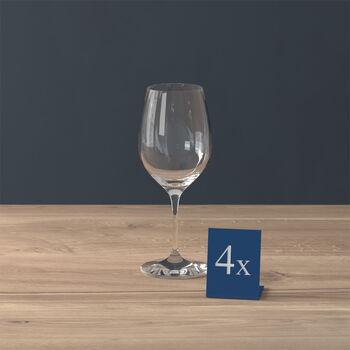 Entrée verre à vin blanc, 4pièces