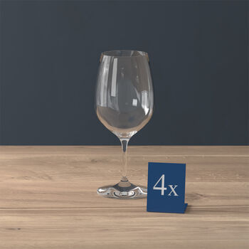 Entrée rode wijnglas, 4 stuks