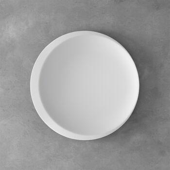 NewMoon presenteerdienschaal, 37 cm, wit