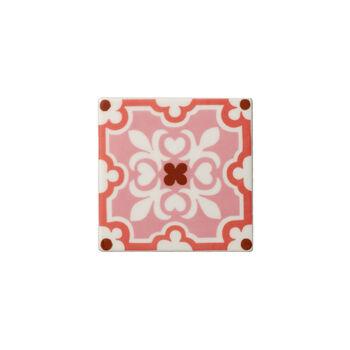 Table Accessories Onderzetter set 2-dlg. Rose Caro 11x11cm