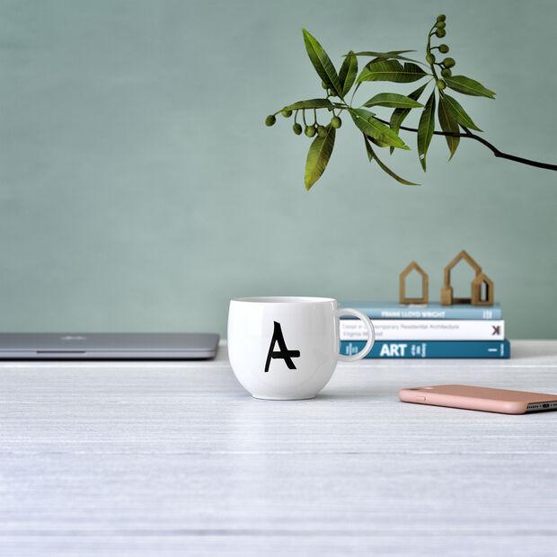 Mug Letters A 13x10x8cm, , large