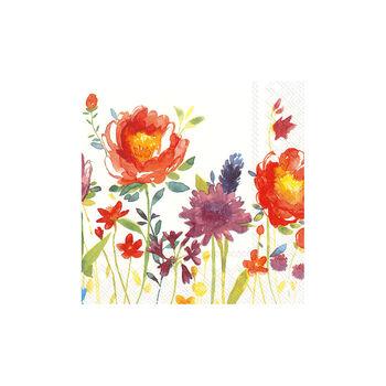 Papieren servetten Anmut Flowers, 20 stuks, 33x33cm
