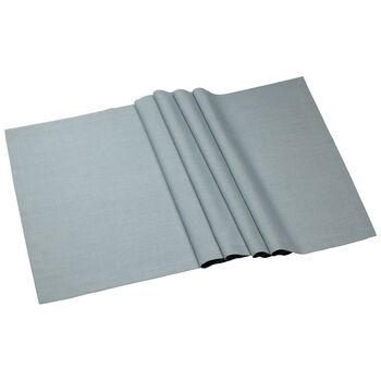 Textil Uni TREND Runner blue fox 77 50x140cm