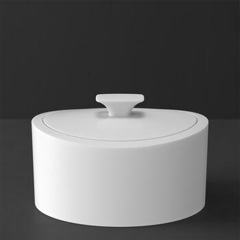 MetroChic blanc Gifts Porseleinen doosje 16x13x10cm