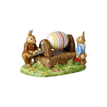Bunny Tales eierverfmachine
