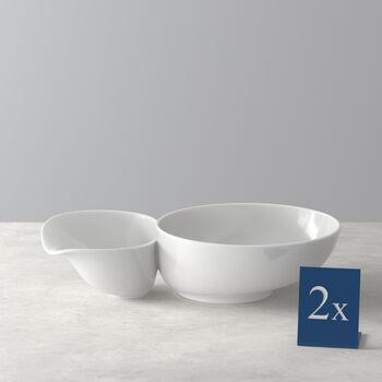 Soup Passion Bol à soupe grand Set 2 pcs. 27,5x17,3x6,8cm