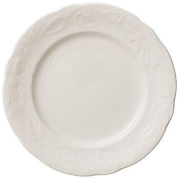 Rose Sauvage blanche ontbijtbord