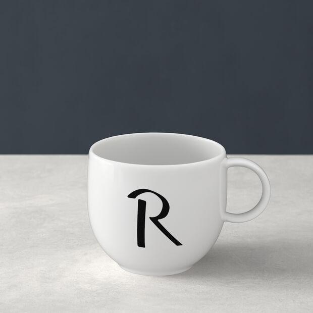 Letters beker V 13x10x8cm, , large
