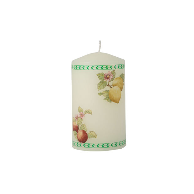 Table Decoration Kaars French Garden 70x140mm, , large