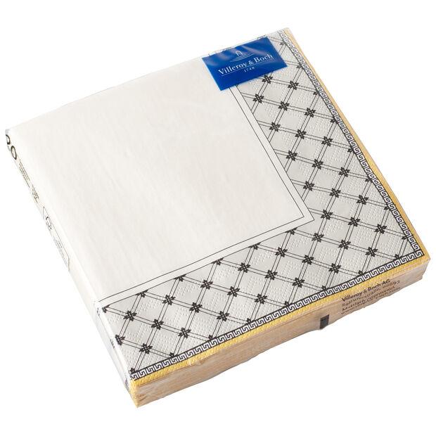 Serviettes en papier Audun, 20pièces, 33x33cm, , large