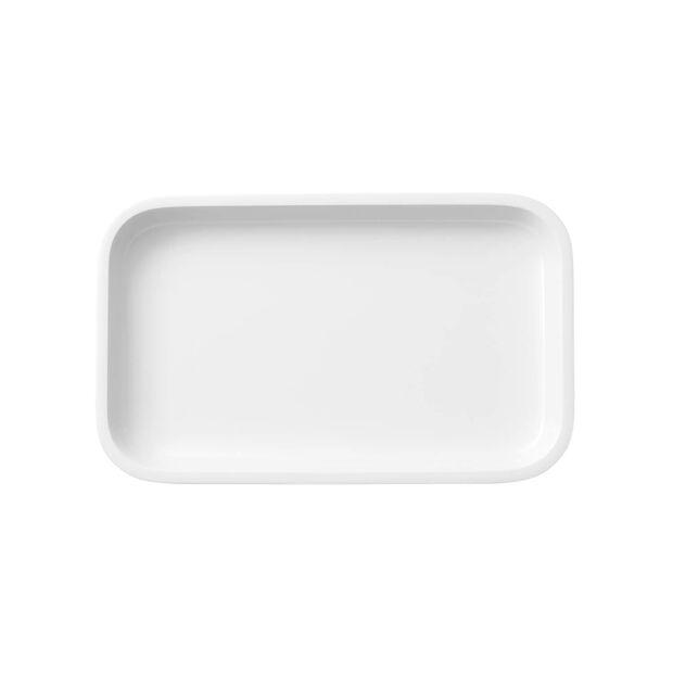 Clever Cooking Serveerschaal / Deksel rechthoekig 26x16cm, , large