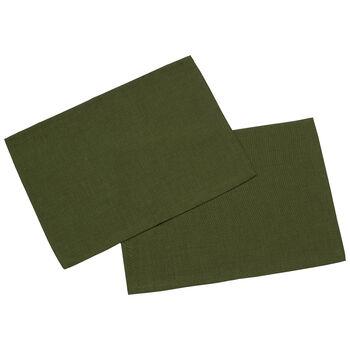 Textil Uni TREND Placemat donkergroen S2 35x50cm