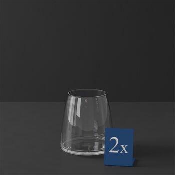 MetroChic waterglas, 2 stuks, 110 cm, 565 ml