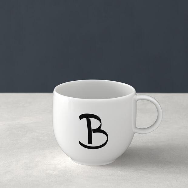 Letters beker D 13x10x8cm, , large