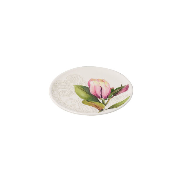 Quinsai Garden dessous-de-plat, diamètre 11cm, blanc/multicolore, , large