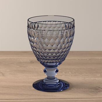 Boston Coloured waterglas blue