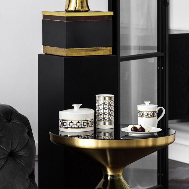 MetroChic Gifts mug à café avec couvercle 11,5x8,5x11cm, , large