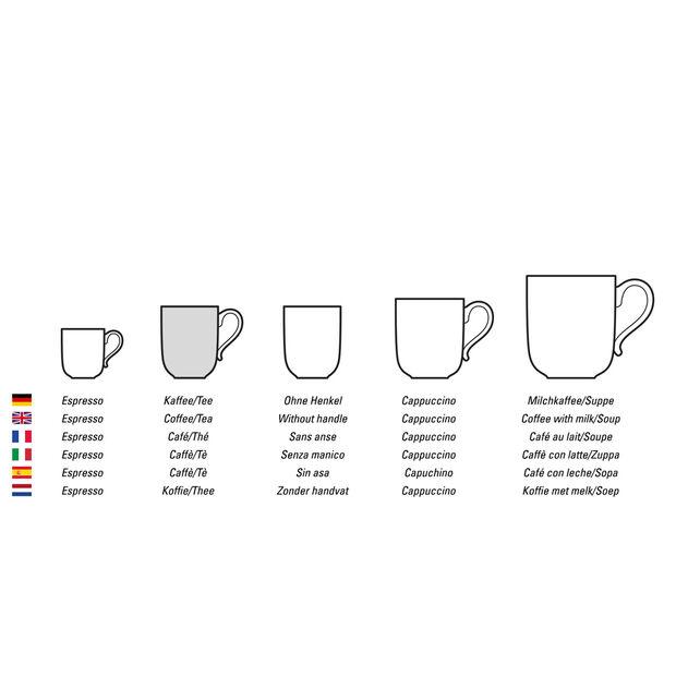 Twist Witte koffie-/theekop, , large