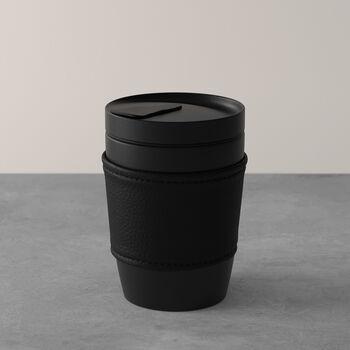 Manufacture Rock Coffee To Go beker, 290 ml, mat zwart