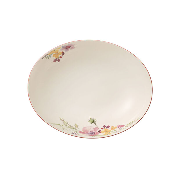 Mariefleur Basic ovale serveerschaal 26 cm, , large