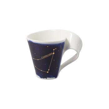 NewWave Stars beker Steenbok, 300 ml, blauw/wit