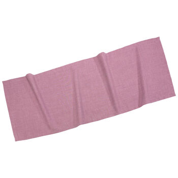 Textil Uni TREND Chemin de table fuchsia 50x140cm