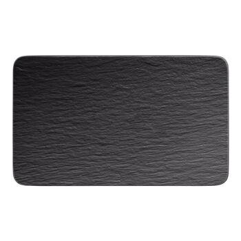 Manufacture Rock multifunctioneel bord, zwart/grijs, 28 x 17 x 1 cm