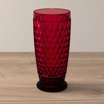 Boston Coloured longdrinkglas red