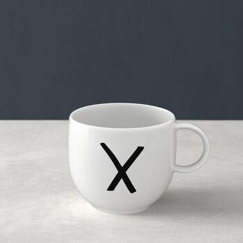 Mug Letters X 13x10x8cm