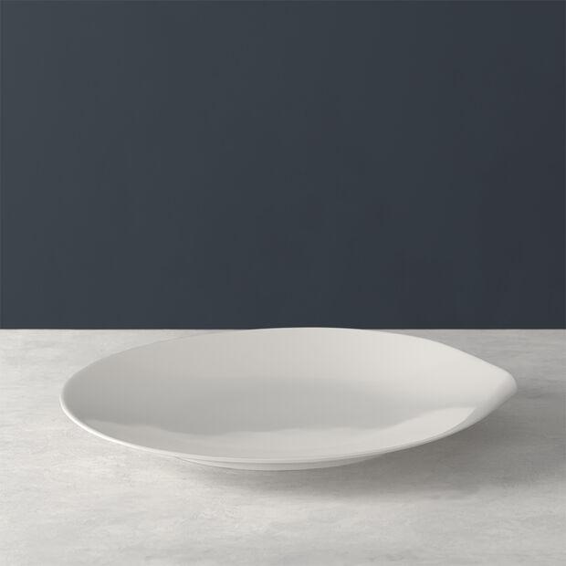 Flow assiette plate 28x27cm, , large