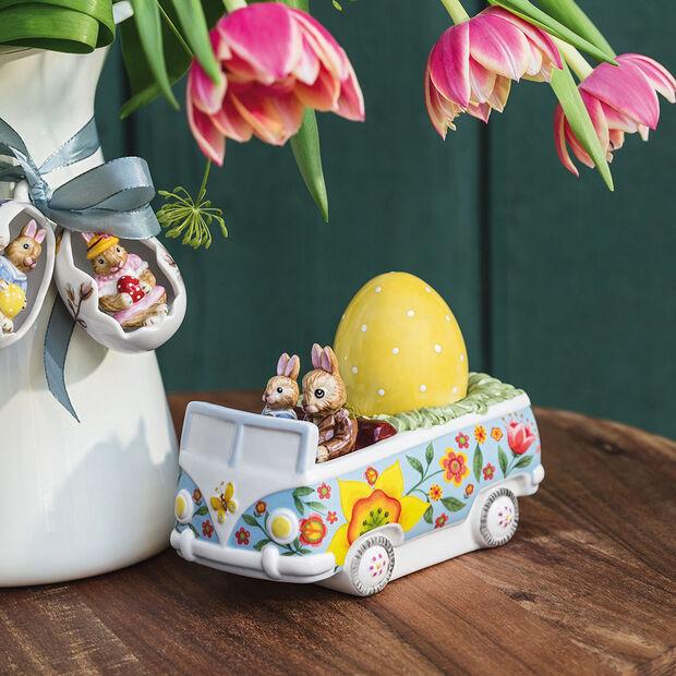Bunny Tales figuur bus, gekleurd, , large