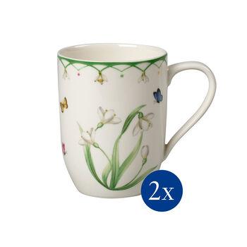 Colourful Spring koffiebeker, 340ml, 2 stuks
