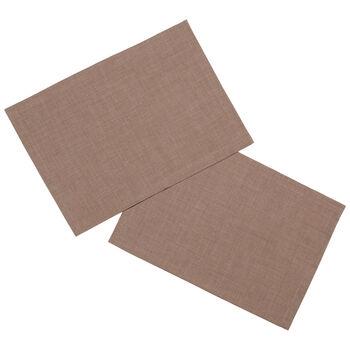 Textil Uni TREND Placemat taupe S2 35x50cm