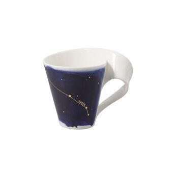 NewWave Stars mug bélier, 300ml, bleu/blanc