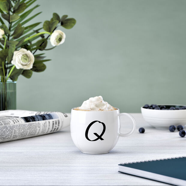 Mug Letters Q 13x10x8cm, , large